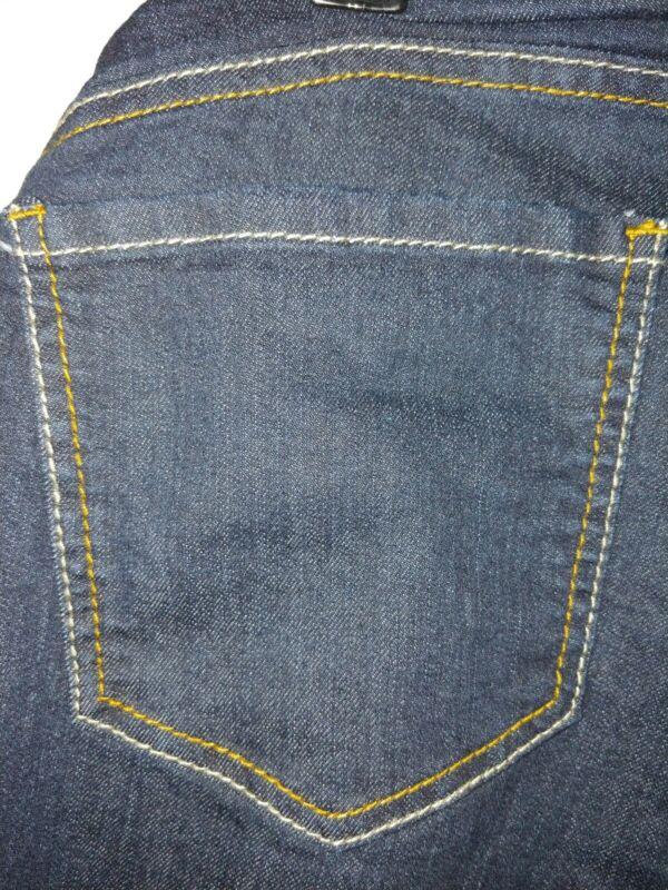Motherhood Maternity Indigo Blue Jeans 1X, Dark Full Panel