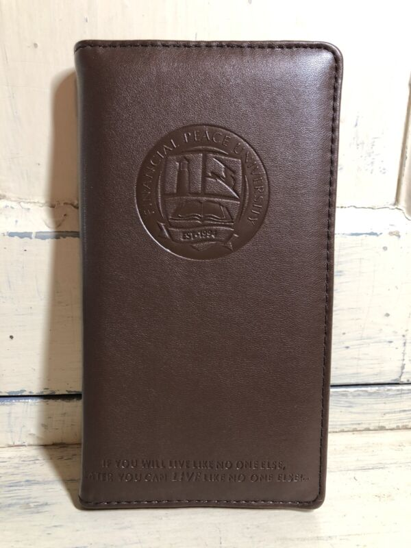 NEW Dave Ramsey Financial Peace University FPU Envelope System Wallet w/ Extras