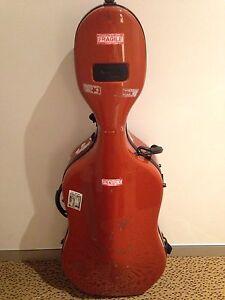 BAM Newtech Cello Case with wheels (terracotta) Adelaide CBD Adelaide City Preview