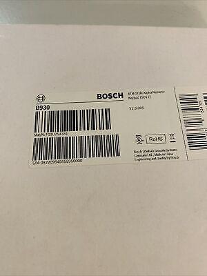 New Bosch Security Systems B930 Atm Keypad
