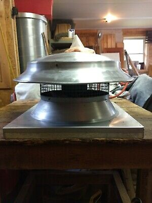 Dayton 4wn58 12 Dd Axial Power Roof Ventilator Exhaust Fan 110v Vent