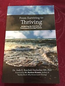 From thriving to surviving - nursing textbook
