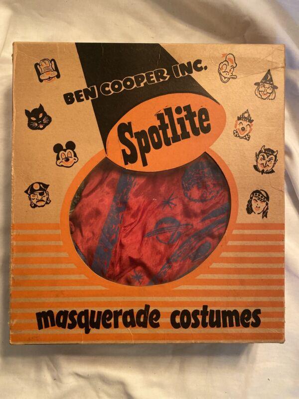 Vintage Ben Cooper Inc Spotlite Space Commando Costume
