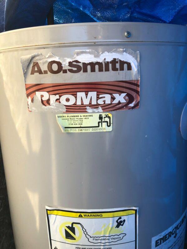 AO Smith ProLine Commercial Grade Water Heater Natural Gas NG 40 gal gallon