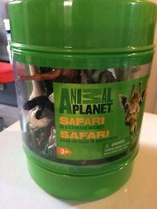 Bucket of safari animals