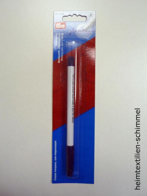 PRYM Markierstift Stift Trickmarker selbstlöschend Zauberstift violett 611809