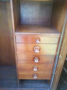 Antique wooden dressing table, low boy and high boy Earlwood Canterbury Area Preview