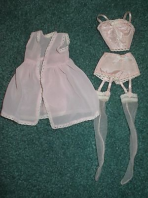 Barbie Silkstone Fashion Lingerie #4 outfit only (2001) no shoes
