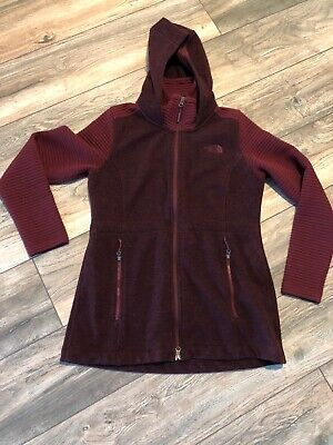 The North Face Better Sweater Jacket Maroon Women's Medium (Best North Face Ski Jacket)