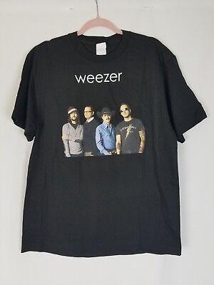 Weeser men L 2008 Troublemaker concert tour t-shirt black