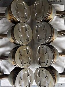 302 Forged Pistons & Cast Crankshaft