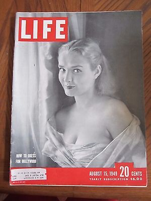 Life Magazine How to Dress for Hollywood August 1949 - Clothes Magazines