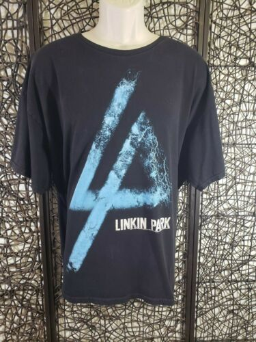 LINKIN PARK BAND LOGO MENS TEE T SHIRT BLACK SIZE XL 2012