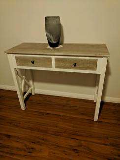 2 drawer Hampston Style Hall Table / Dresser / Desk