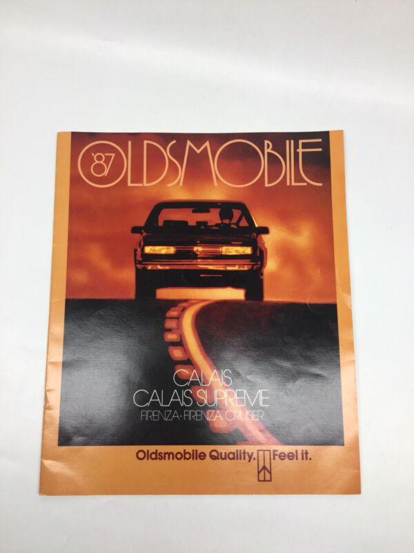 Vintage 1987 Oldsmobile Calais Firenza Sales Brochure