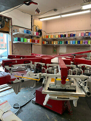Anatol 87 Volt All Electric Automatic Screen Printing Press