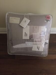 BNIB King size comforter duvet set - 7 pieces