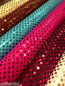 SQUARE-SEQUIN-LUREX-JERSEY-DISCO-DANCE-FANCY-DRESS-FABRIC-MATERIAL