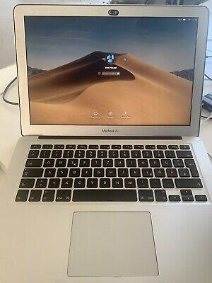 """Apple MacBook Air 13.3"""" (256GB SSD, Intel Core i5 5. Gen 1.8GHz, 8GB) Silber, usado segunda mano  Embacar hacia Argentina"""