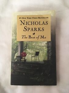 NICHOLAS SPARKS THE BEST OF ME - Book For Sale