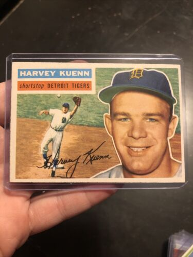 1956 Topps Harvey Kuenn Detroit Tigers Great Shape - $6.89