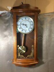 Linden Westminster Chime Quartz Battery Powered Clock