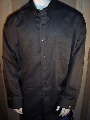 (NEW Cutter & Buck 4XB Gray Cotton/Poly Dress Shirt)