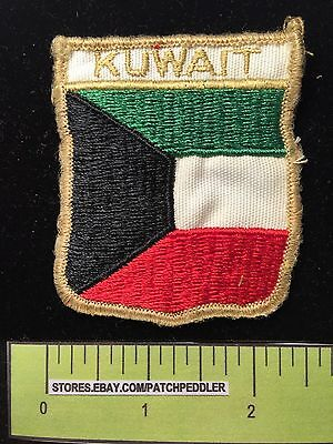KUWAIT MIDDLE EAST Jacket Patch Souvenir Collectible ~ 5DB4