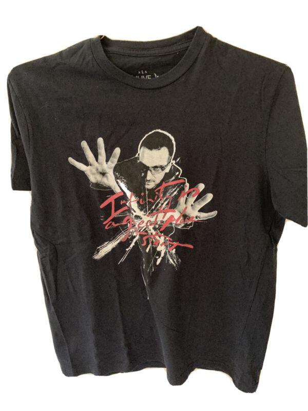 """U2 """"Infinity Is A Great Place To Start"""" Tshirt 360 Tour '09 Large Black. New"""