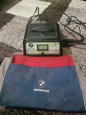 Vintage BMW Motorcyle Battery Charger