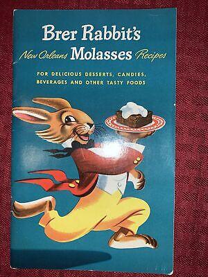 Vintage Brer Rabbit's New Orleans Molasses Recipes Cookbook