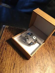 Men's tungsten ring size 13