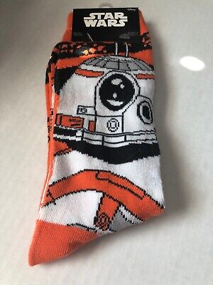 NWT Loot Crate Star Wars BB-8 Star Wars Force Awakens Socks Size 6-12