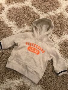 New hoodie size 3 months