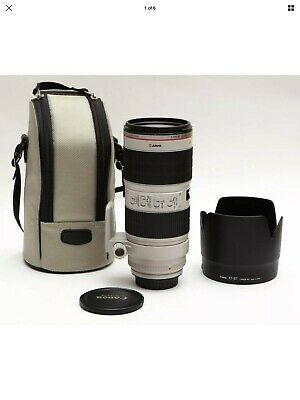 Canon EF 70-200mm f/2.8L IS II USM Telephoto Lens (2751B002) Excellent Condition