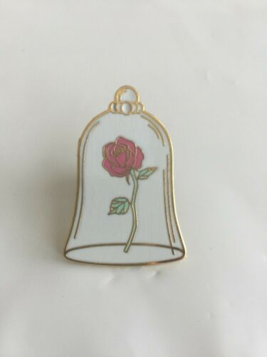 DISNEY PIN ROSE IN BELLE JAR  FROM BEAUTY & THE BEAST 1 PIN AS SHOWN