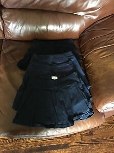 Girls Size 8 school uniform skirts/skorts