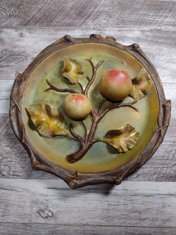 ANTIQUE J. S. Josef Strnact Fruit Plate