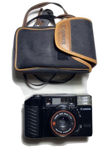 Canon Sure Shot AF35M II 35mm Film Camera 38mm F/2.8 Lens Strap Case TESTED  - $100.00