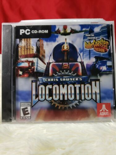 New! Chris Sawyer's Locomotion (PC, 2018) CD-ROM Windows 7 Video Game NEW SEALED