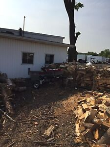 Firewood business for sale.