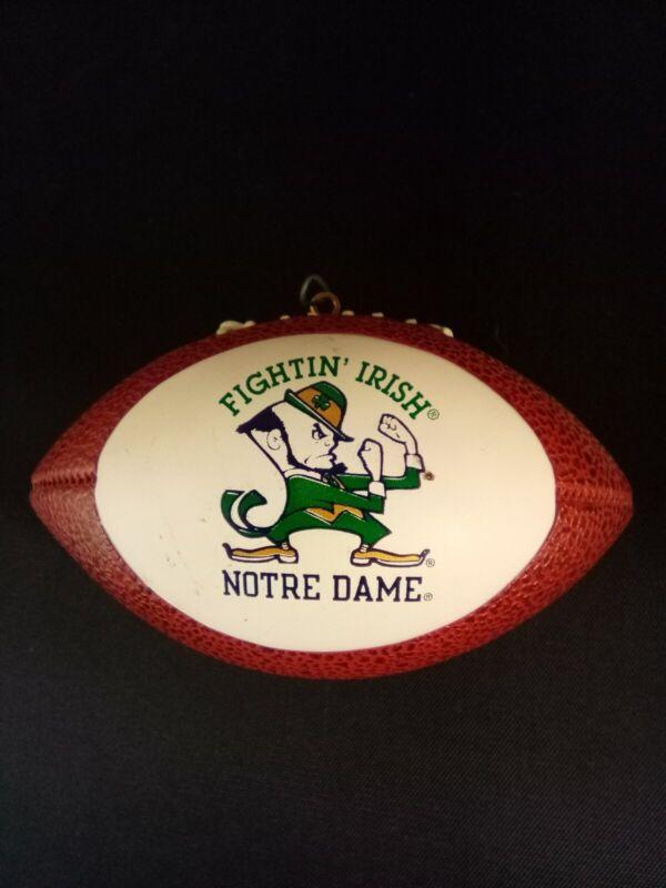 Christmas Ornament Fighting Irish Notre Dame Football