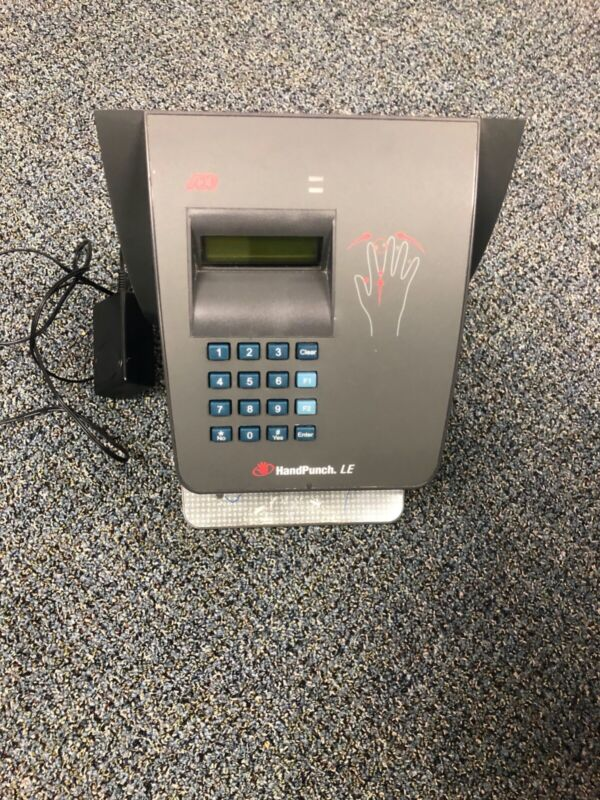 ADP Hand Punch HP-4000 Biometric Clock W/ Ethernet RSI