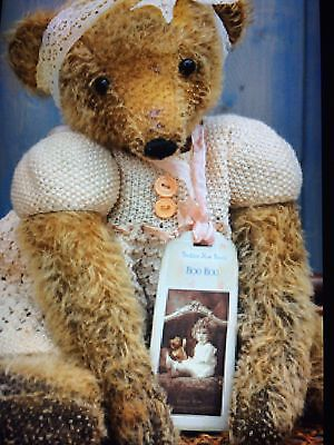 mohair bear shabby chic Artist Bear please contact me for dispatch date