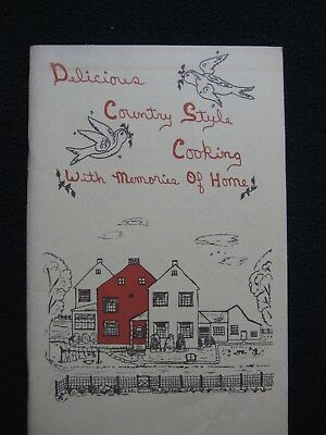 Delicious Country Style Cooking With Memories Of Home  Pamphlet