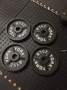 100 lbs Olympic weights
