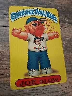 GPK Joe Blow Garbage Pail Kids 8x12 Metal Wall Sign