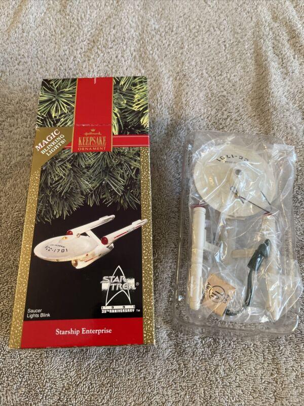 Hallmark  1991 Starship Enterprise, Star Trek