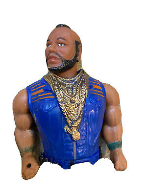 Rare Vintage 1983 The A Team Galoob Mr T as BA Baracus 15cm Action Figure Toy