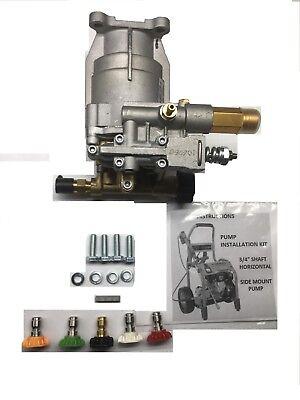 Free Tip Set New Pressure Washer Pump 3000 Psi Troy-bilt 020208 Ryobi 308653052
